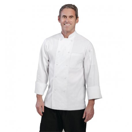 Chef Works Unisex Le Mans Chefs Jacket White XL