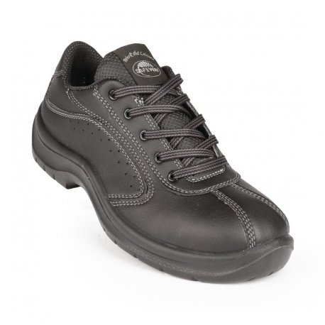 Lites Side Perforated Lace Up Black 45