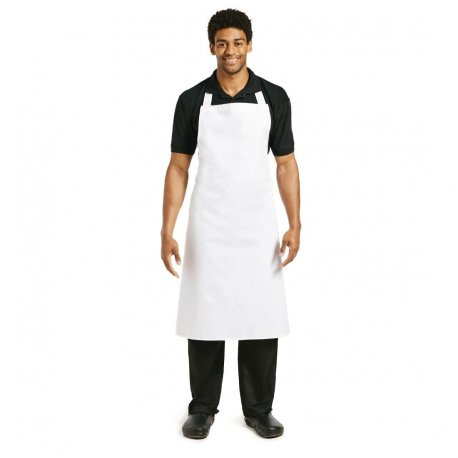 Whites Bib Apron White XL