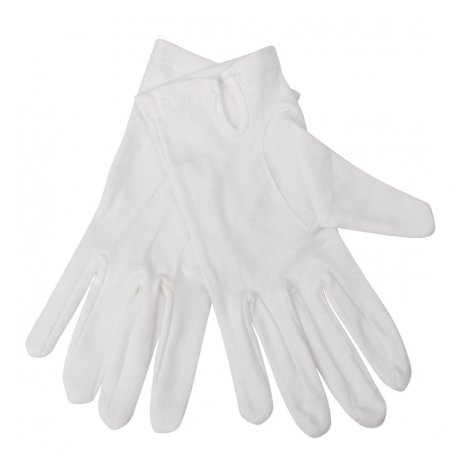 Mens Waiting Gloves White M