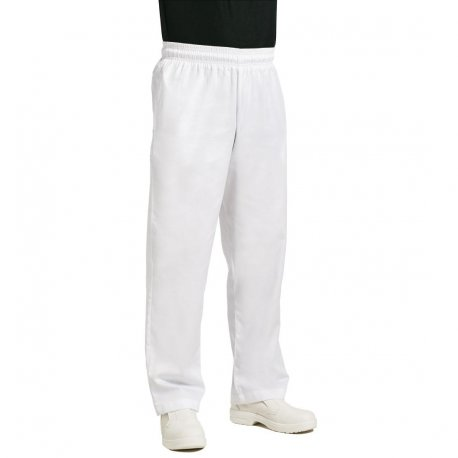 Chef Works Unisex Easyfit Chefs Trousers White XL