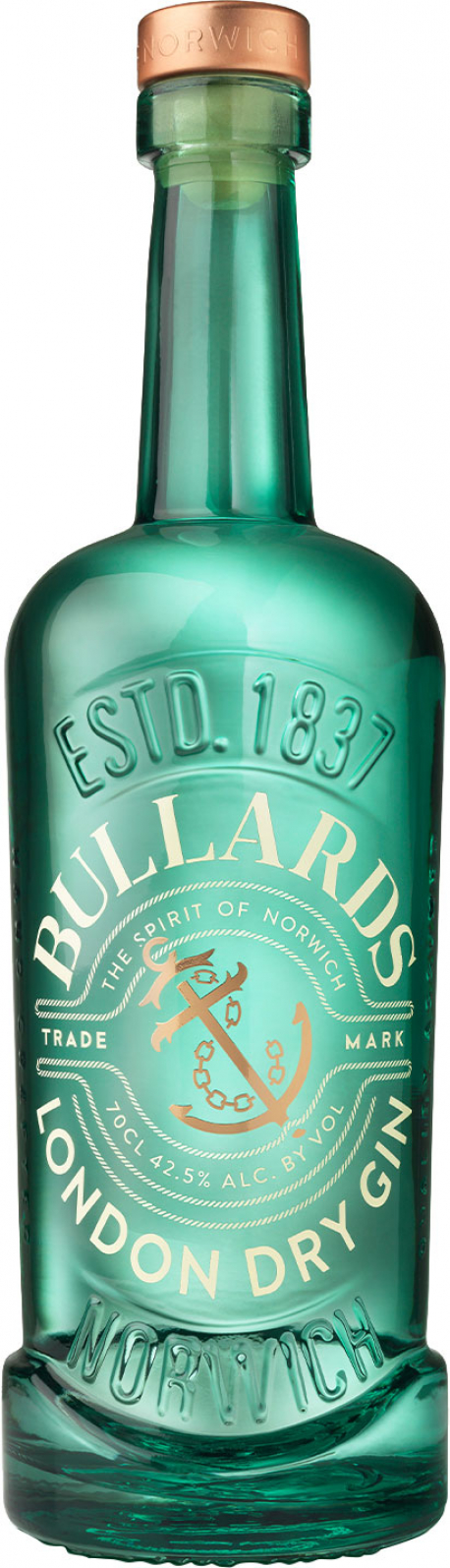 Image of Bullards Norwich - Dry Gin