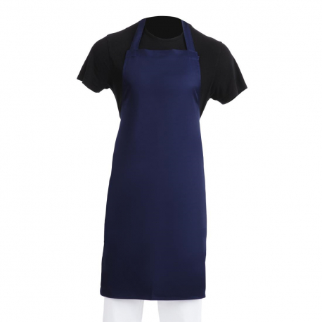 Whites Bib Apron  Navy Blue