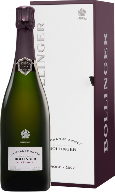 Bollinger - La Grande Annee Rose 2007 (75cl Bottle)