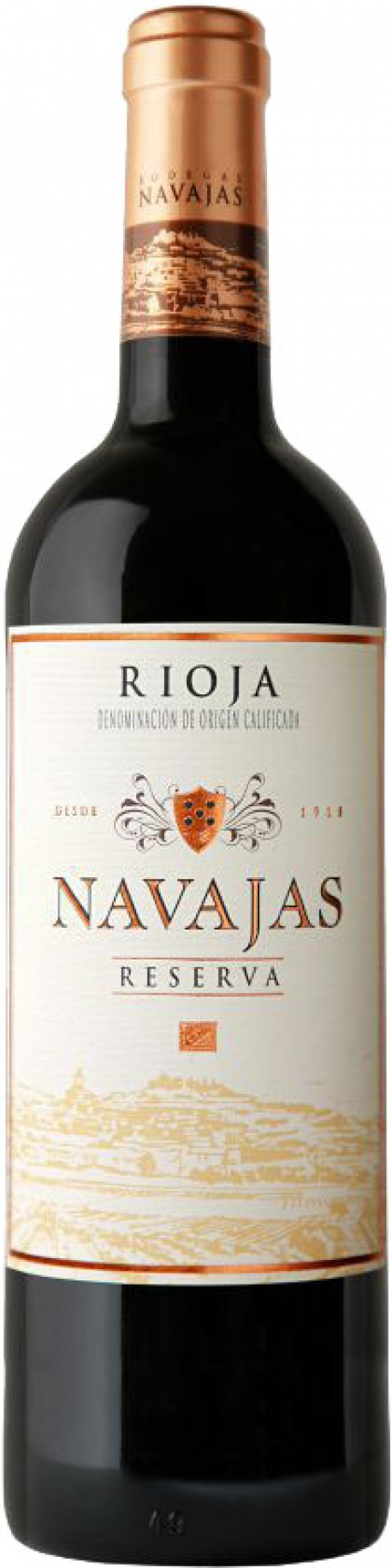 Navajas - Reserva Tinto 2011 (75cl Bottle)