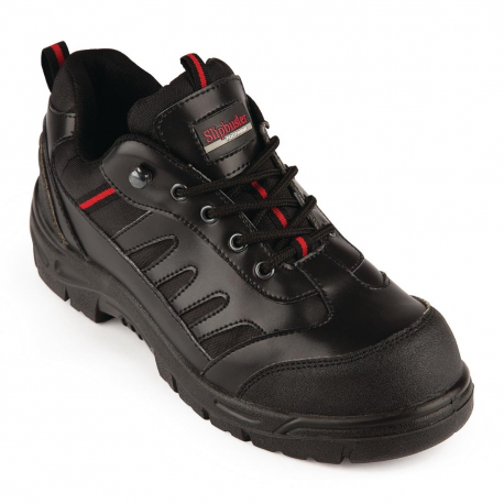 Slipbuster Unisex Safety Trainer Black 45