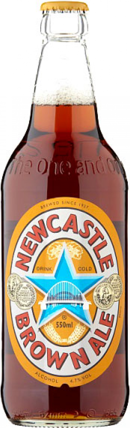 Newcastle Brown Ale (12x 550ml Bottles)