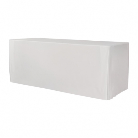 ZOWN XL180 Table Plain Cover White
