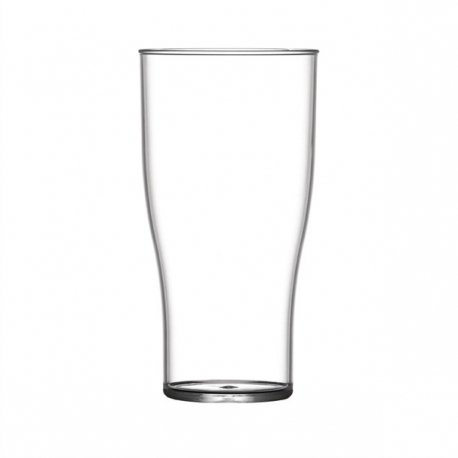 Pack of 100 Plastic 2//3rds Pint Glass CE marked to brim