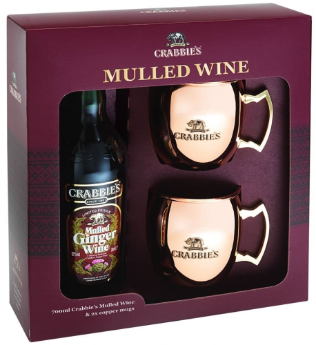 Crabbies - Mulled Ginger Wine Gift Pack (70cl Bottle)