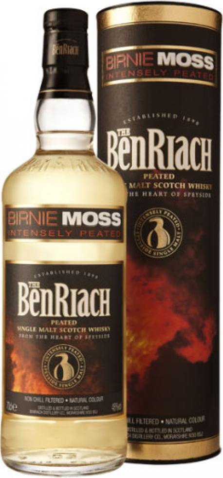 BenRiach - Birnie Moss Peated Speyside (70cl Bottle)