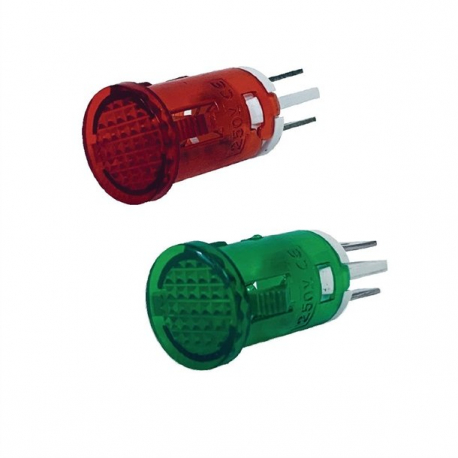Nisbets Essentials Green and Red Indicator Lights