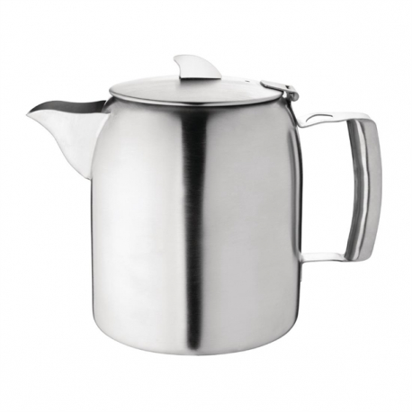 Olympia Airline Teapot Stainless Steel 1.6Ltr