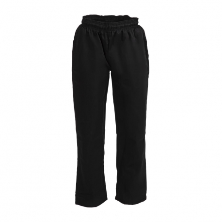 Whites Vegas Chef Trousers Polycotton Black - S