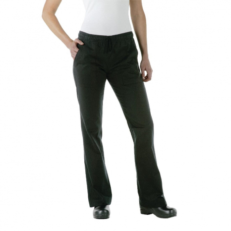 Chef Works Womens Executive Chef Trousers Black XS