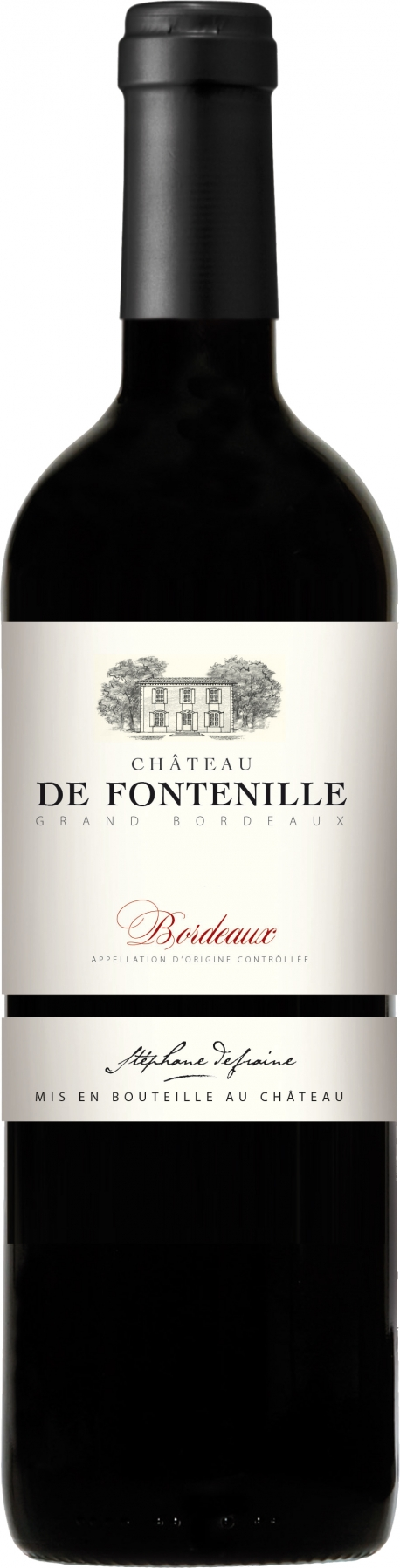 Chateau de Fontenille - Bordeaux Rouge 2015 (75cl Bottle)