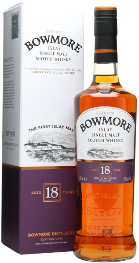 Bowmore - 18 Year Old (70cl Bottle)