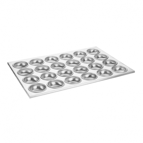 Vogue Aluminium Muffin Tray 24 Cup