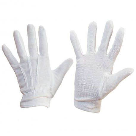 Heat Resistant Waiter's Gloves  - White (Pack of 10)