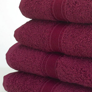 Coloured Hand Towels Picture