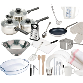 Student Kitchen Packs Image