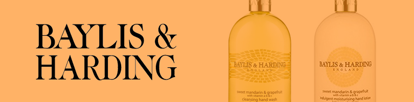 Baylis and Harding Banner