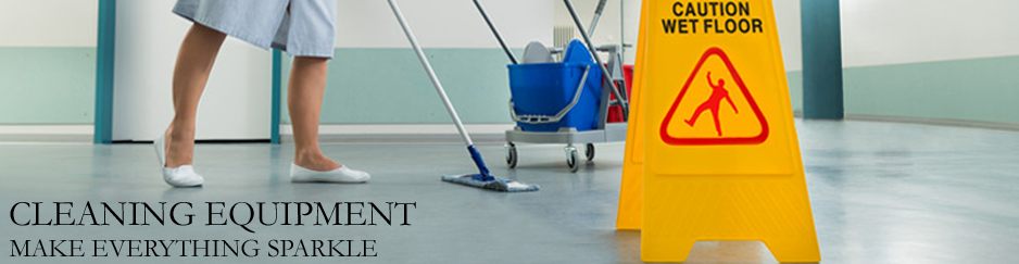 Cleaning Equipment Banner