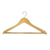 Light Wood Hanger (50 pcs)