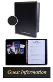 Guest Information Ring Binder Folder