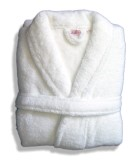 Ultra-Soft Microfibre Robe - Shawl Collar - Large