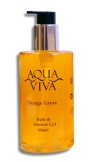 Aqua Viva 300ml Bath & Shower Gel Bottle - Orange Grove