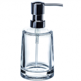 Clear Acrylic Serene Liquid Soap Dispenser