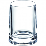 Clear Acrylic Serene Bathroom Tumbler