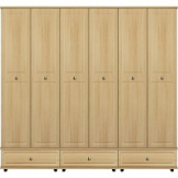 Virgo extra high with 3 x double drawers