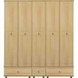 VIRGO 5 Door robe, extra high with 3 drawers