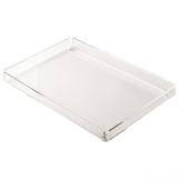 Clear Rectangular Tray - 148 x 220mm (Pack of 6)