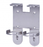 Stainless Steel Wall Bracket for 250 / 300ml Bottles - Double