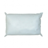 Polyester Hollowfibre Pillow, Washable to 40'C - Twin Pack