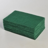 Catering Green Scourers - 9 X 6 x 10