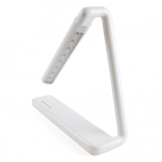 Lloytron 2W LED 'Gamma' Rechargeable Touch Study Desk Lamp - White (Case of 10)