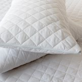 Quilted Pillow Protector - Pair With Zip