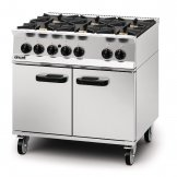 Lincat Opus 800 Natural Gas 6 Burner Range OG8002/N