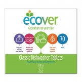 Ecover Dishwasher Tablets (70 Pack) (Pack of 70)