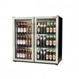 Autonumis EcoChill Double Hinged Door Maxi Back Bar Cooler St/St Door A21098