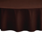 Essentials Occasions Tablecloth Cocoa 230cm (120 TC, Polyester)