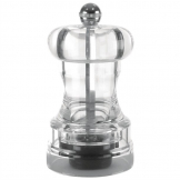 Acrylic Salt and Pepper Mill 102mm