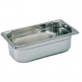 Bourgeat Stainless Steel 1/3 Gastronorm Pan 100mm
