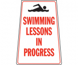 Swimming Lessons in Progress Portable Floor Stand - FL061