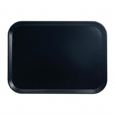 Cambro Camtray Fibreglass Canteen Tray Black 457mm