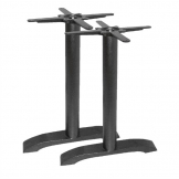 Bolero Cast Iron Twin Leg Table Base (Pack of 2)